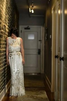 70 Gatsby Glamour Wedding Dresses Ideas 04