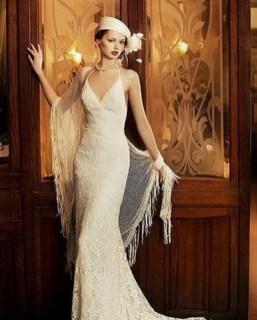 70 Gatsby Glamour Wedding Dresses Ideas 08