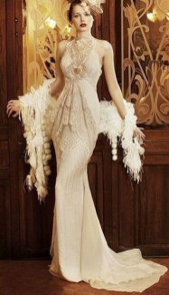 70 Gatsby Glamour Wedding Dresses Ideas 32