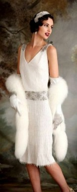 70 Gatsby Glamour Wedding Dresses Ideas 71
