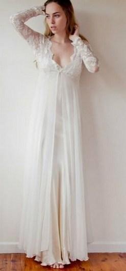 70 Long Sleeve Lace Wedding Dresses Ideas 05