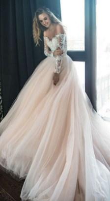 70 Long Sleeve Lace Wedding Dresses Ideas 15