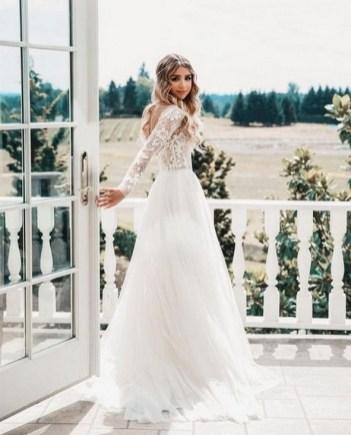 70 Long Sleeve Lace Wedding Dresses Ideas 18