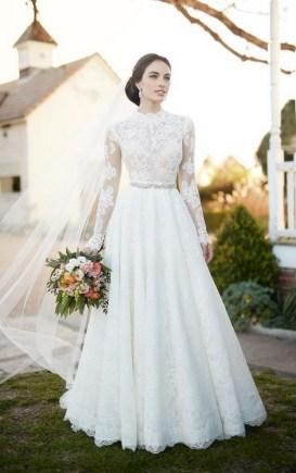 70 Long Sleeve Lace Wedding Dresses Ideas 19