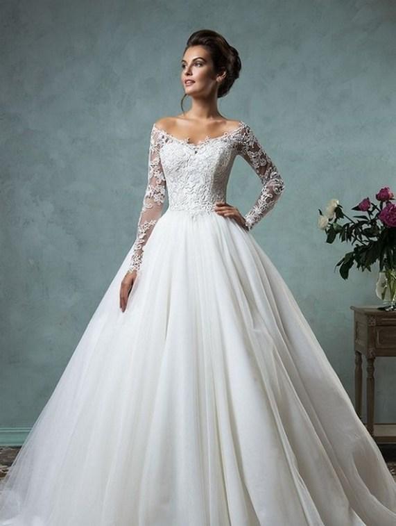 70 Long Sleeve Lace Wedding Dresses Ideas 25