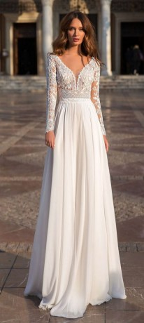 70 Long Sleeve Lace Wedding Dresses Ideas 29