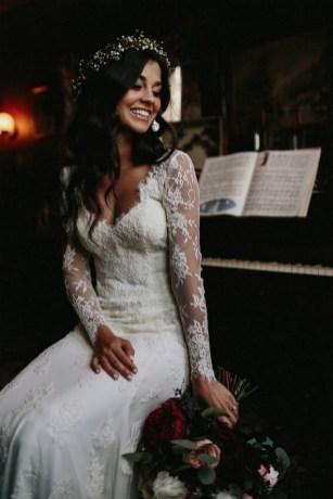 70 Long Sleeve Lace Wedding Dresses Ideas 30