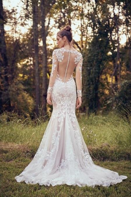 70 Long Sleeve Lace Wedding Dresses Ideas 39