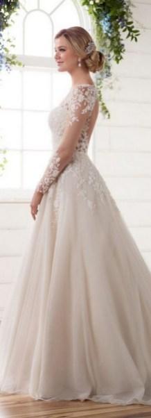 70 Long Sleeve Lace Wedding Dresses Ideas 44