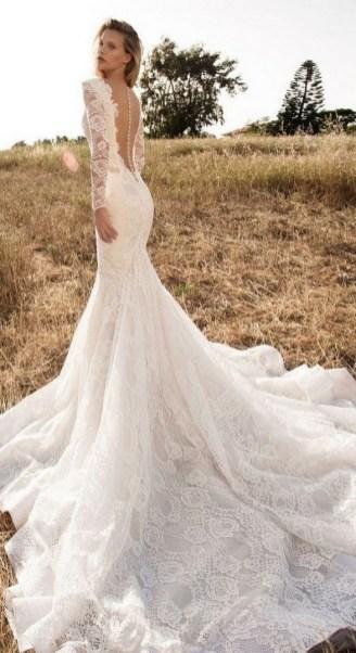 70 Long Sleeve Lace Wedding Dresses Ideas 46