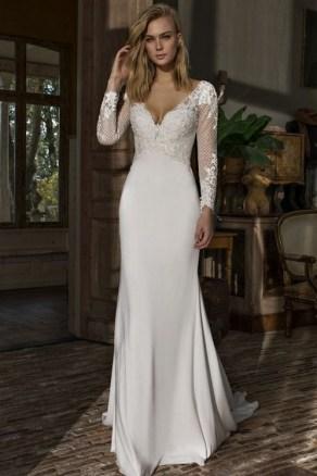 70 Long Sleeve Lace Wedding Dresses Ideas 48