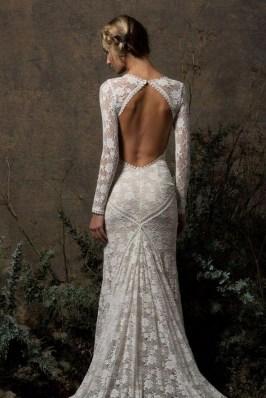 70 Long Sleeve Lace Wedding Dresses Ideas 60