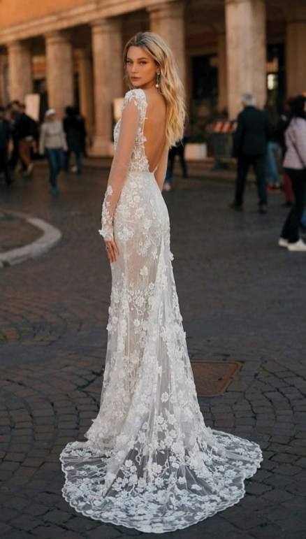 70 Long Sleeve Lace Wedding Dresses Ideas 70