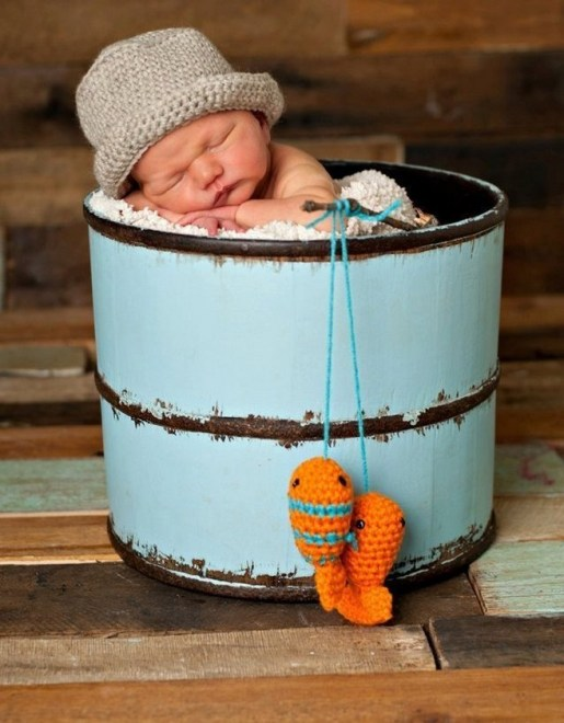 70 Newborn Baby Boy Photography Ideas 02