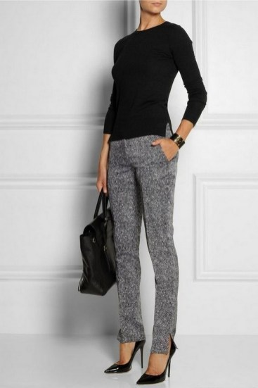 75 How to Wear Sweater for Working Women 05