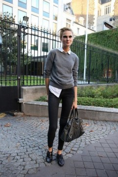 75 How to Wear Sweater for Working Women 09