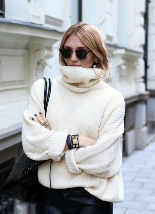 75 How to Wear Sweater for Working Women 13