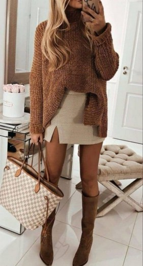 75 How to Wear Sweater for Working Women 32