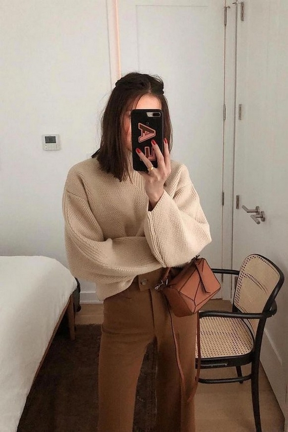 75 How to Wear Sweater for Working Women 65