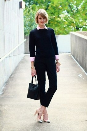 75 How to Wear Sweater for Working Women 66