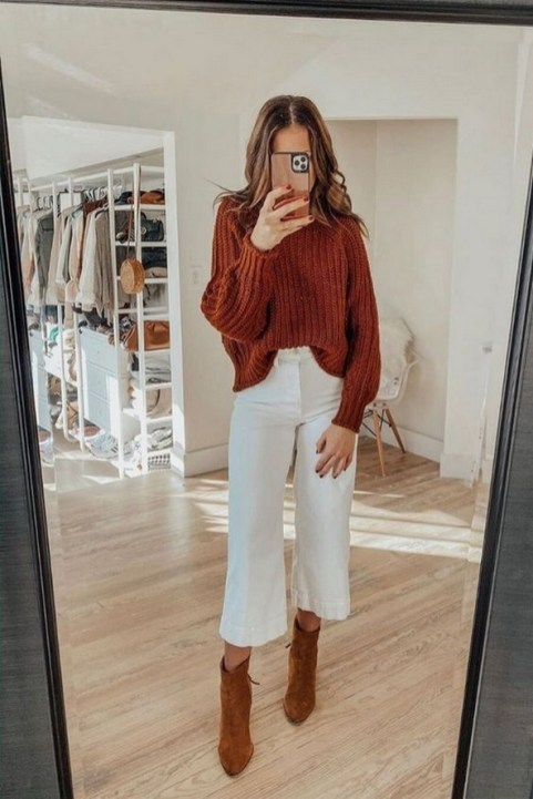 75 How to Wear Sweater for Working Women 71