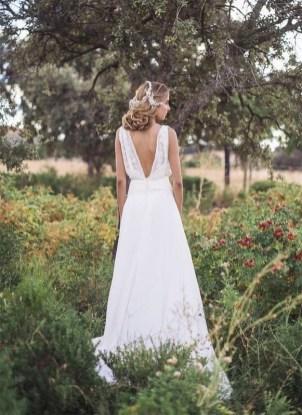 80 Adorable V Shape Back Wedding Dresses You Need to See 27