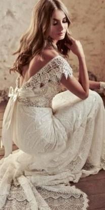 80 Adorable V Shape Back Wedding Dresses You Need to See 29