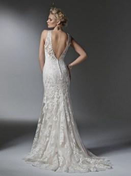 80 Adorable V Shape Back Wedding Dresses You Need to See 39