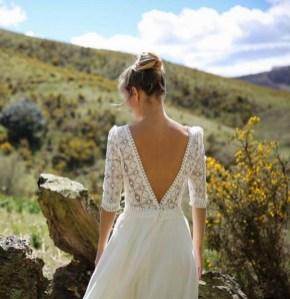 80 Adorable V Shape Back Wedding Dresses You Need to See 47