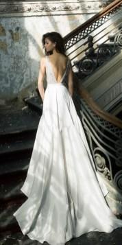 80 Adorable V Shape Back Wedding Dresses You Need to See 54