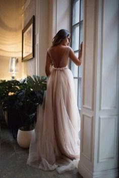 80 Adorable V Shape Back Wedding Dresses You Need to See 61