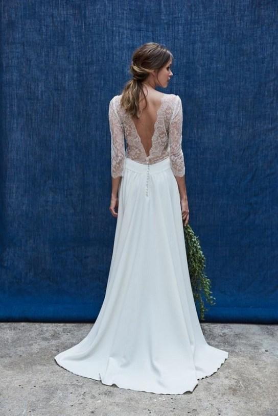 80 Adorable V Shape Back Wedding Dresses You Need to See 62
