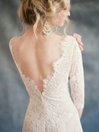 80 Adorable V Shape Back Wedding Dresses You Need to See 66