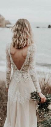 80 Adorable V Shape Back Wedding Dresses You Need to See 69