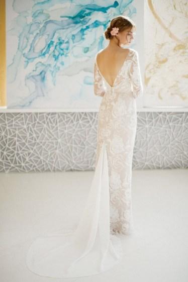 80 Adorable V Shape Back Wedding Dresses You Need to See 71