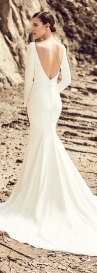 80 Adorable V Shape Back Wedding Dresses You Need to See 72