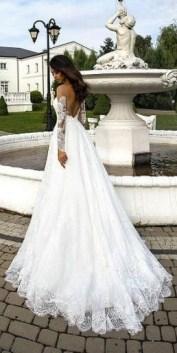 80 Adorable V Shape Back Wedding Dresses You Need to See 82