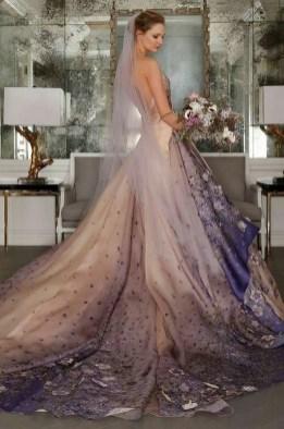 80 Colorful Wedding Dresses Ideas 10