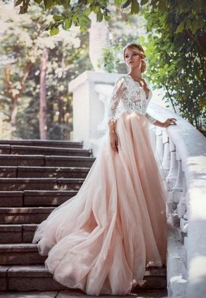 80 Colorful Wedding Dresses Ideas 21
