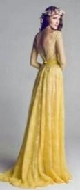 80 Colorful Wedding Dresses Ideas 29