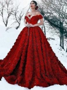 80 Colorful Wedding Dresses Ideas 31