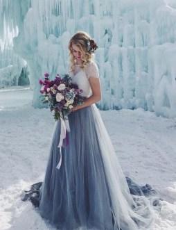 80 Colorful Wedding Dresses Ideas 38