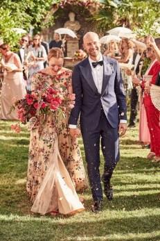 80 Colorful Wedding Dresses Ideas 42