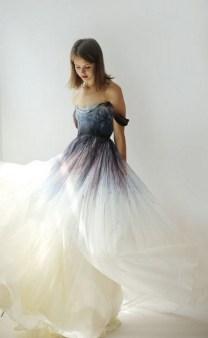 80 Colorful Wedding Dresses Ideas 43