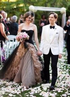 80 Colorful Wedding Dresses Ideas 53