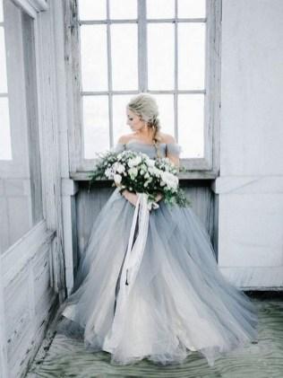 80 Colorful Wedding Dresses Ideas 61