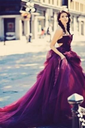 80 Colorful Wedding Dresses Ideas 70