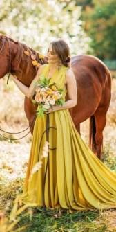 80 Colorful Wedding Dresses Ideas 72