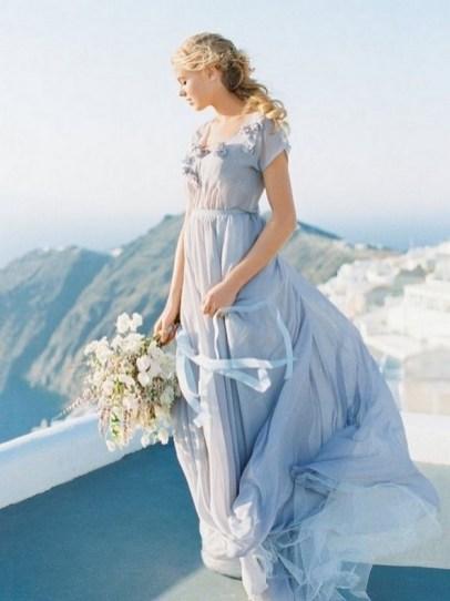 80 Colorful Wedding Dresses Ideas 83