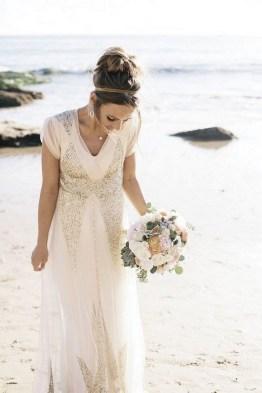 80 Inspiring Beautiful Sequin Bridal Gown 11